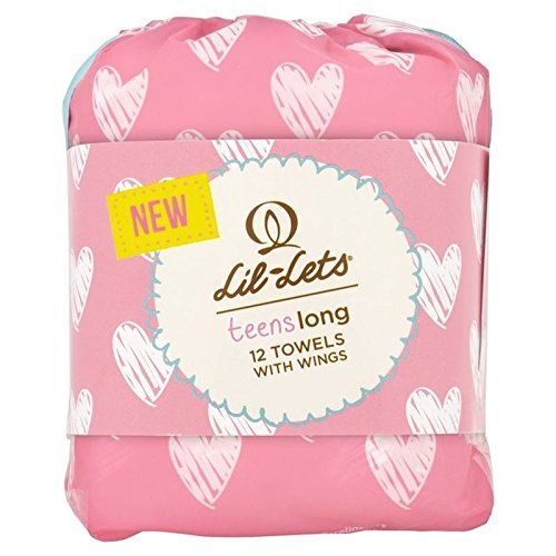 Lil-Lets Teens Long Towels 12