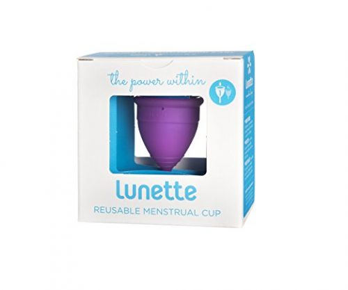 Lunette Menstrual Cup - Violet - Model 1 for Light to Medium Menstruation