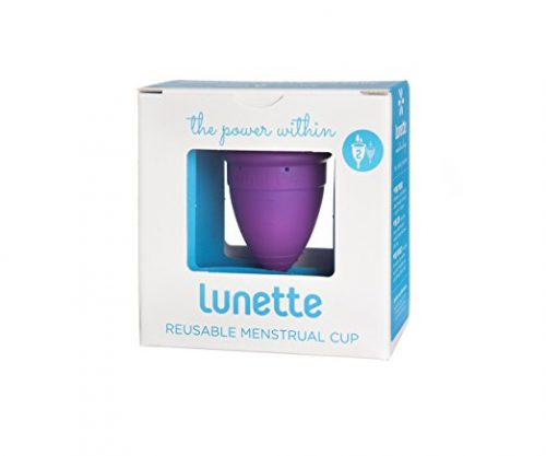 Lunette Menstrual Cup - Violet - Model 2 for Medium to Heavy Menstruation