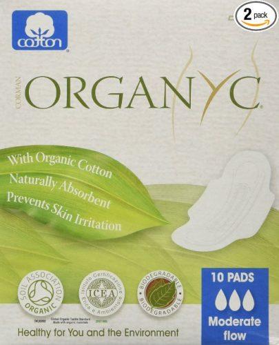 ORGANYC Hypoallergenic 100% Organic Cotton Pads