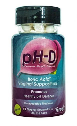 pH-D Feminine Health Support, Boric Acid Vaginal Suppositories