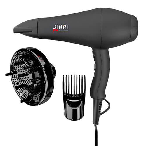 Jinri Infrared Blow Dryer with Comb Attachment